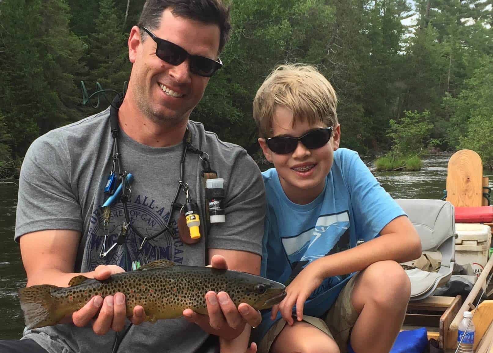 Days well spent gates au sable lodge for Hubbards fishing float